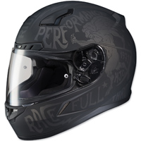 HJC CL-17 Rebel Black Full Face Helmet