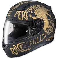 HJC CL-17 Rebel Black/Gold Full Face Helmet