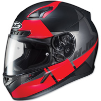 HJC CL-17 Boost Black/Red Full Face Helmet