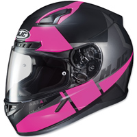 HJC CL-17 Boost Black/Pink Full Face Helmet