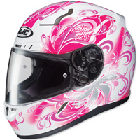 HJC CL-17 Cosmos White/Pink Full Face Helmet