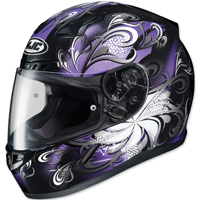 HJC CL-17 Cosmos Black/Purple Full Face Helmet