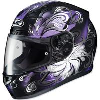 HJC CL-17 Cosmos Black/Purple Full Face Helmet