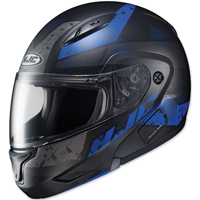HJC CL-MAX II Friction Black/Blue Modular Helmet