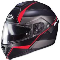 HJC IS-MAX II Mine Black/Red Modular Helmet