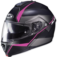HJC IS-MAX II Mine Black/Pink Modular Helmet