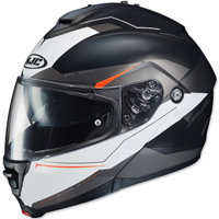 HJC IS-MAX II Magma Black/White Modular Helmet