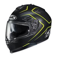 HJC IS-17 Lank Black/Hi-Viz Full Face Helmet