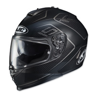 HJC IS-17 Lank Black/Gray Full Face Helmet