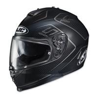 HJC IS-17 Lank Black/Gray Full Face Helmet