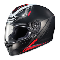 HJC FG-17 Valve Black/Red Full Face Helmet