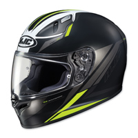 HJC FG-17 Valve Black/Hi-Viz Green Full Face Helmet