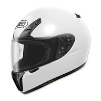 Shoei RF-SR Solid White Full Face Helmet
