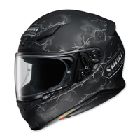 Shoei RF-1200 Ruts Black Full Face Helmet