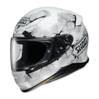 Shoei RF-1200 Ruts White Full Face Helmet