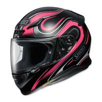 Shoei RF-1200 Intense Black/Pink Full Face Helmet