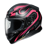 Shoei RF-1200 Intense Black/Pink Full Face Helmet