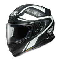Shoei RF-1200 Parameter Black/White Full Face Helmet
