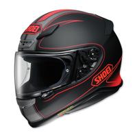 Shoei RF-1200 Flagger Black/Red Full Face Helmet