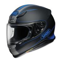 Shoei RF-1200 Flagger Black/Blue Full Face Helmet