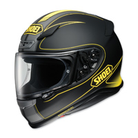 Shoei RF-1200 Flagger Black/Yellow Full Face Helmet