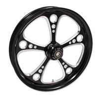 FTD Customs 3 Shot Black Contrast Front Wheel , 16″x3.5″