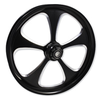 FTD Customs 5 Blade Black Contrast Front Wheel 16″x3.5″