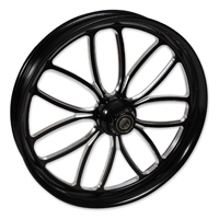 FTD Customs Viper Black Contrast Front Wheel , 16″x3.5″