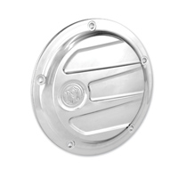 Performance Machine Chrome Scallop Derby Cover