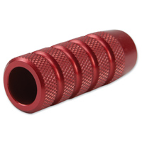 Rooke Red Knurled Toe Peg