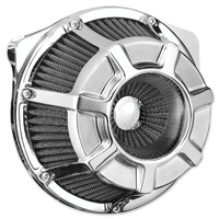 Arlen Ness Inverted Sucker Beveled Chrome Air Cleaner Kit