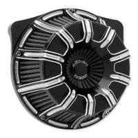 Arlen Ness Inverted Sucker 10-Gauge Black Air Cleaner Kit
