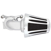 Arlen Ness 90 Degree Monster Sucker Air Cleaner Deep Cut Cover Chrome