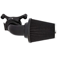 Arlen Ness 90 Degree Monster Sucker Air Cleaner No Cover Black