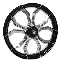 FTD Customs Widow Black Contrast Front Wheel , 21″x3.25″