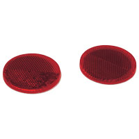 Round Saddlebag Reflectors