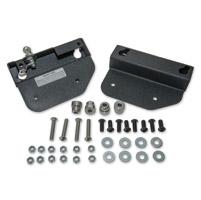 Easy Brackets Saddlebag Mounting System for Detachable Backrest