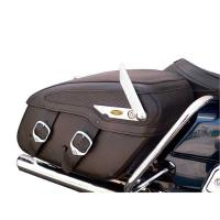 Locking System for Leather Saddlebags