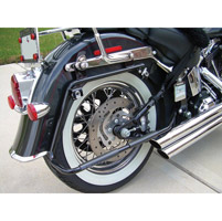 Sumax Saddlebag Bracket for Softails