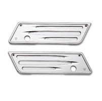 Arlen Ness Deep Cut Chrome Saddlebag Latch Cover