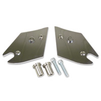 FBI Chrome Backrest Tab Relocation Kit