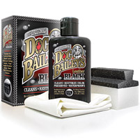 Doc Bailey's Leather Black 4 oz with Applicator and Buffing Cloth