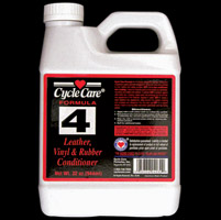 Cycle Care 32oz Formula 4 Leather, Vinyl, and Rubber Conditioner