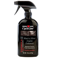Cycle Care Formula B Black and Silver Engine Enhancer