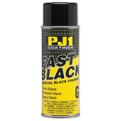 PJ1 Fast Black Porcelain Hard Epoxy Paint