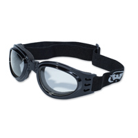 Global Vision Eyewear Adventure Goggle with Clear Mirror Lens