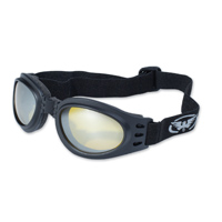 Global Vision Eyewear Adventure Goggle with Yellow Tint Mirror Lens