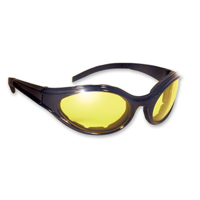Global Vision Eyewear Windmaster Sunglasses with Yellow Tint Lens