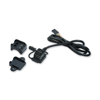Kuryakyn Black USB Power Source