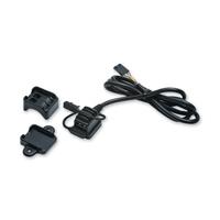 Kuryakyn Black USB Power Source